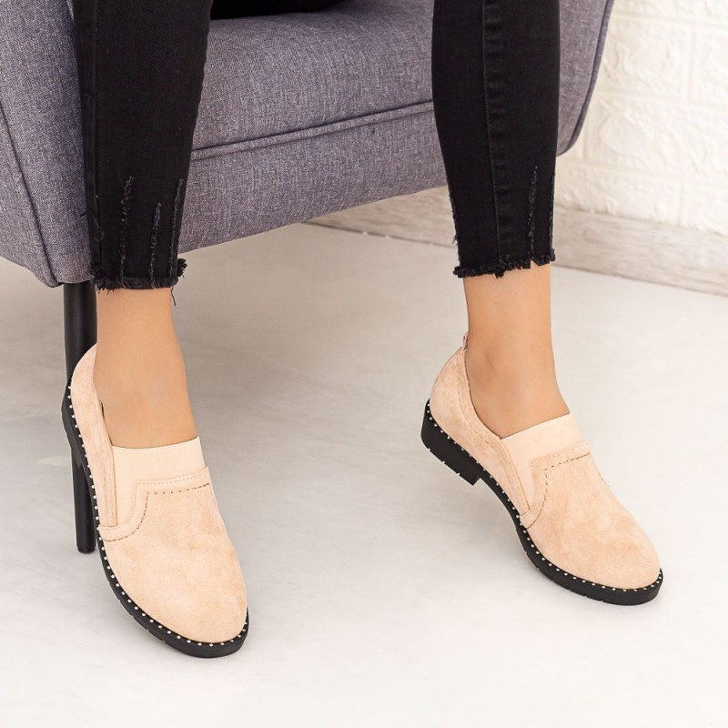 Pantofi Casual Dama LM308 Roz Mei