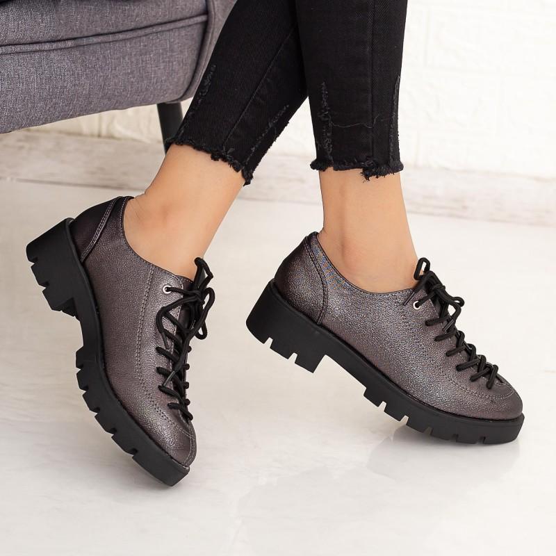 Pantofi Casual Dama DS11 Guncolor Mei