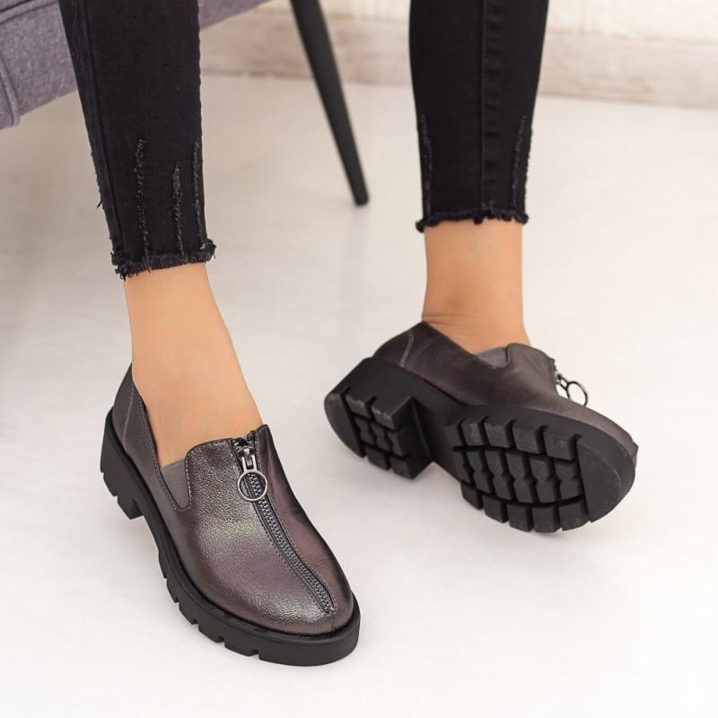 Pantofi Casual Dama DS12 Guncolor Mei