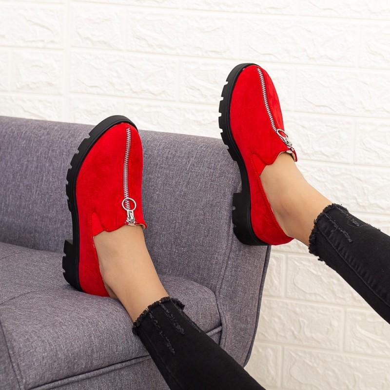 Pantofi Casual Dama DS12A Rosu Mei
