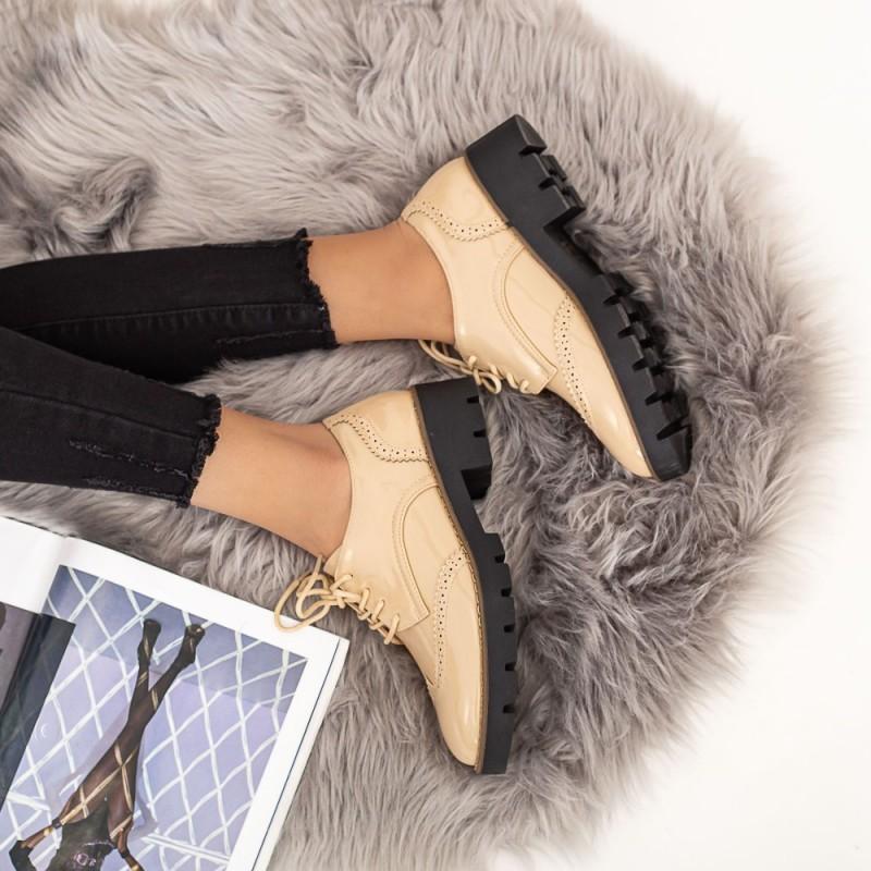 Pantofi Casual Dama DS9 Bej Mei