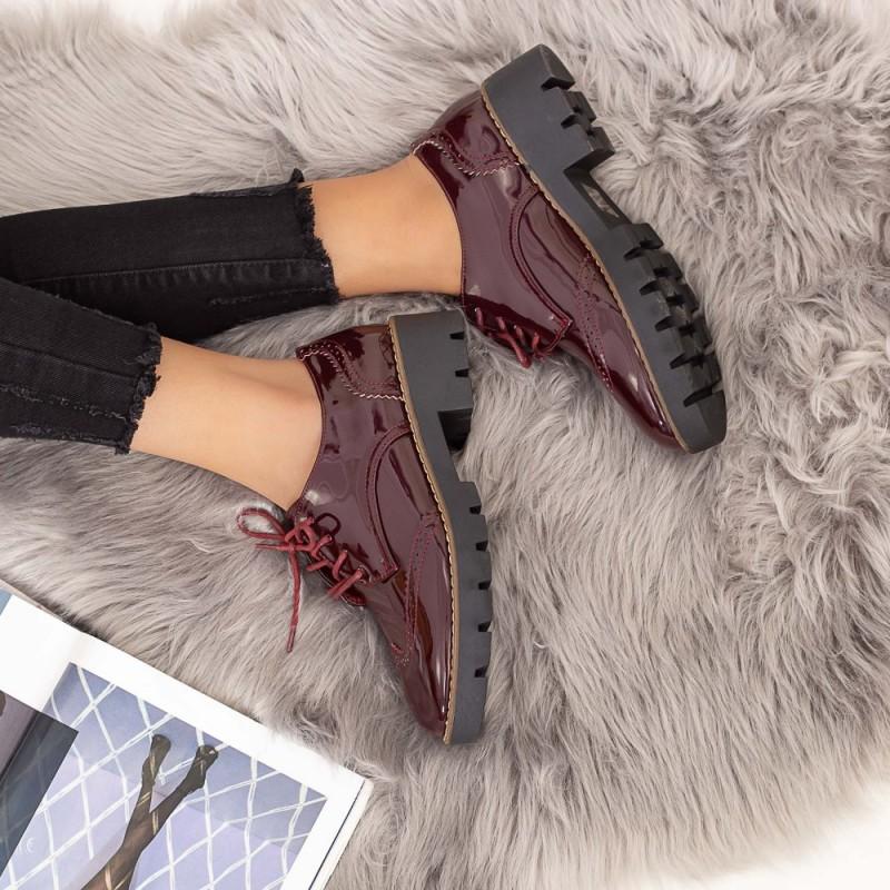 Pantofi Casual Dama DS9 Visiniu Mei