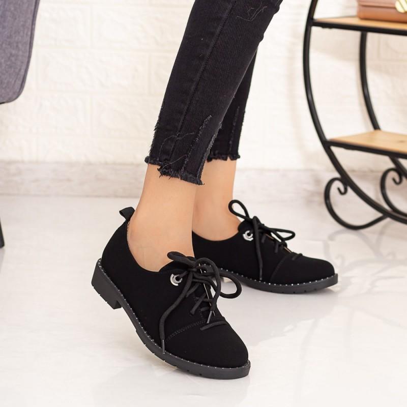 Pantofi Casual Dama LM309 Negru Mei