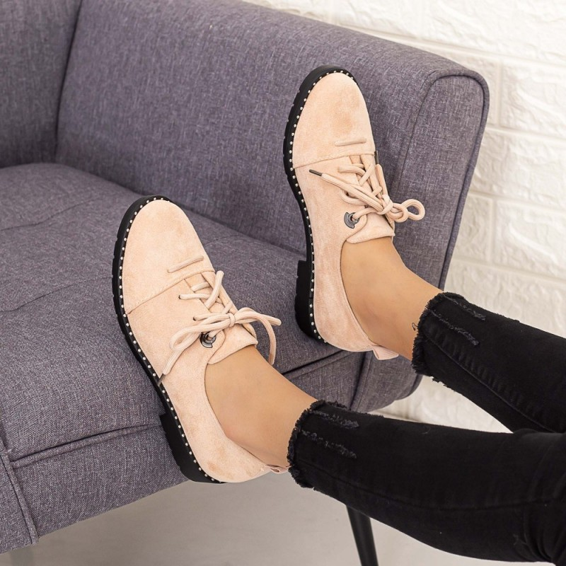 Pantofi Casual Dama LM309 Roz Mei