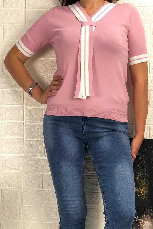 Bluza Dama M18-322 Roz Fashion