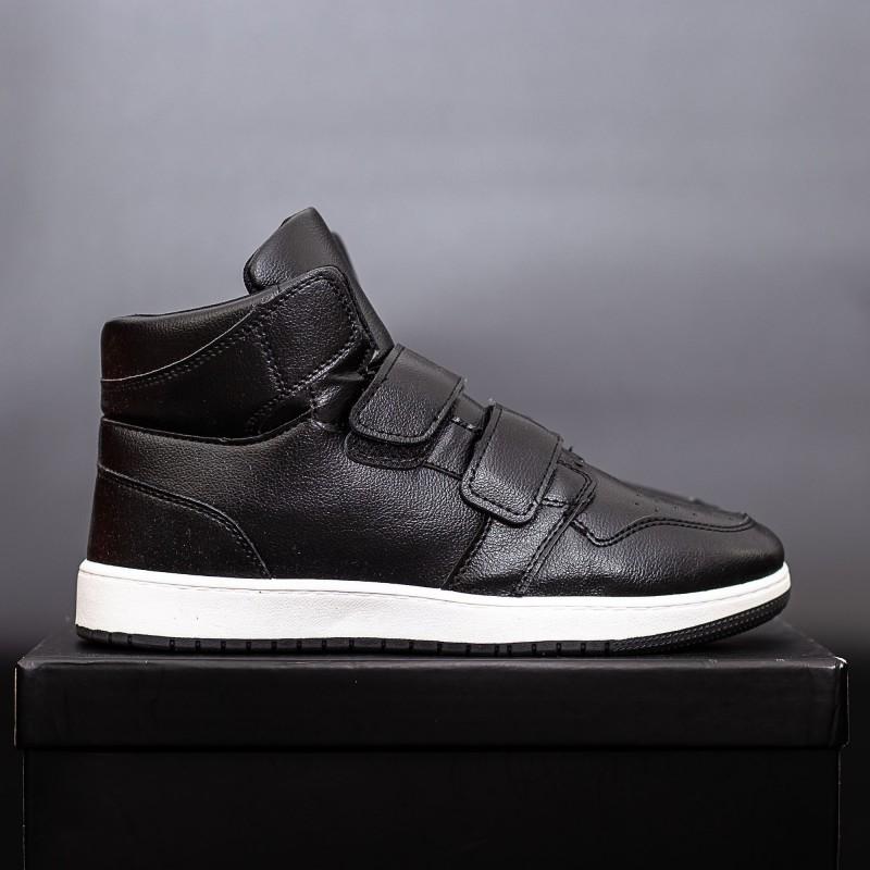 Pantofi Sport Barbati W05 Negru-Alb DCF68