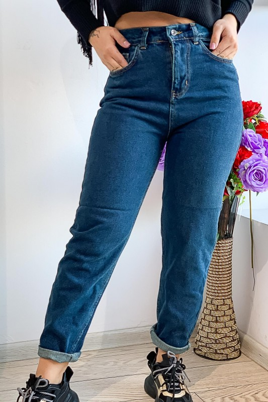 Blugi Dama 1042 Albastru Fashion