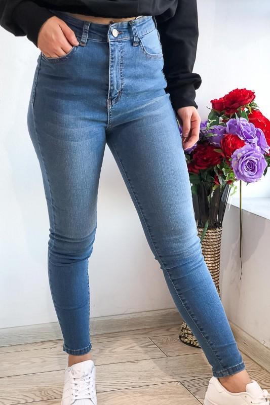 Blugi Dama 111 Albastru Fashion