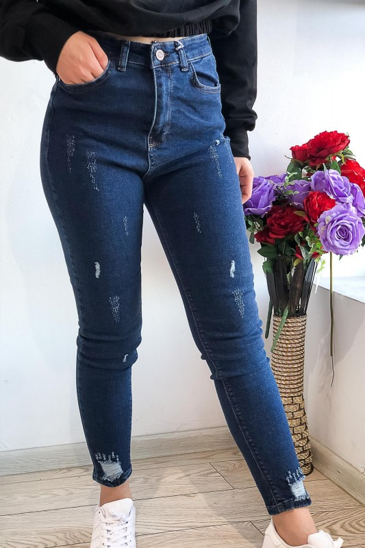 Blugi Dama 1720 Albastru Fashion