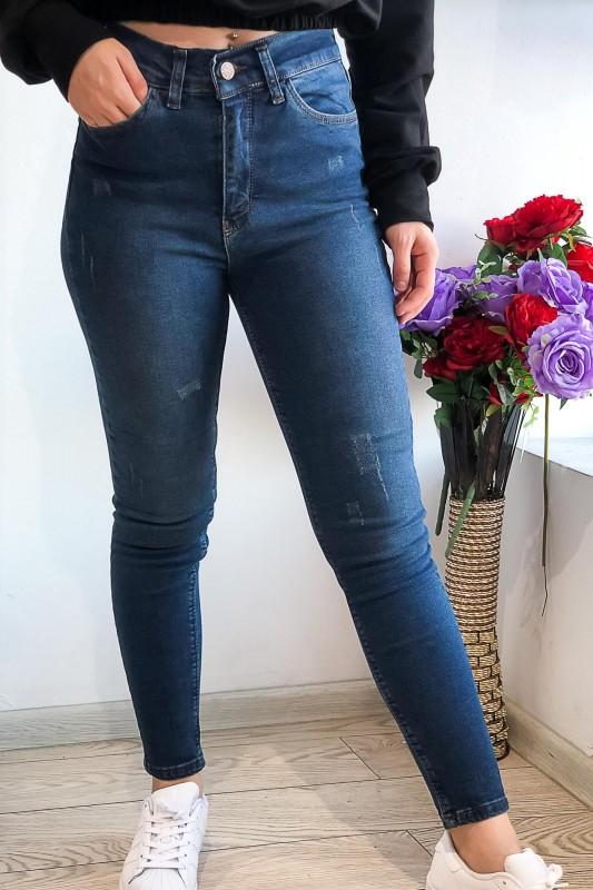 Blugi Dama 1029 Albastru Fashion
