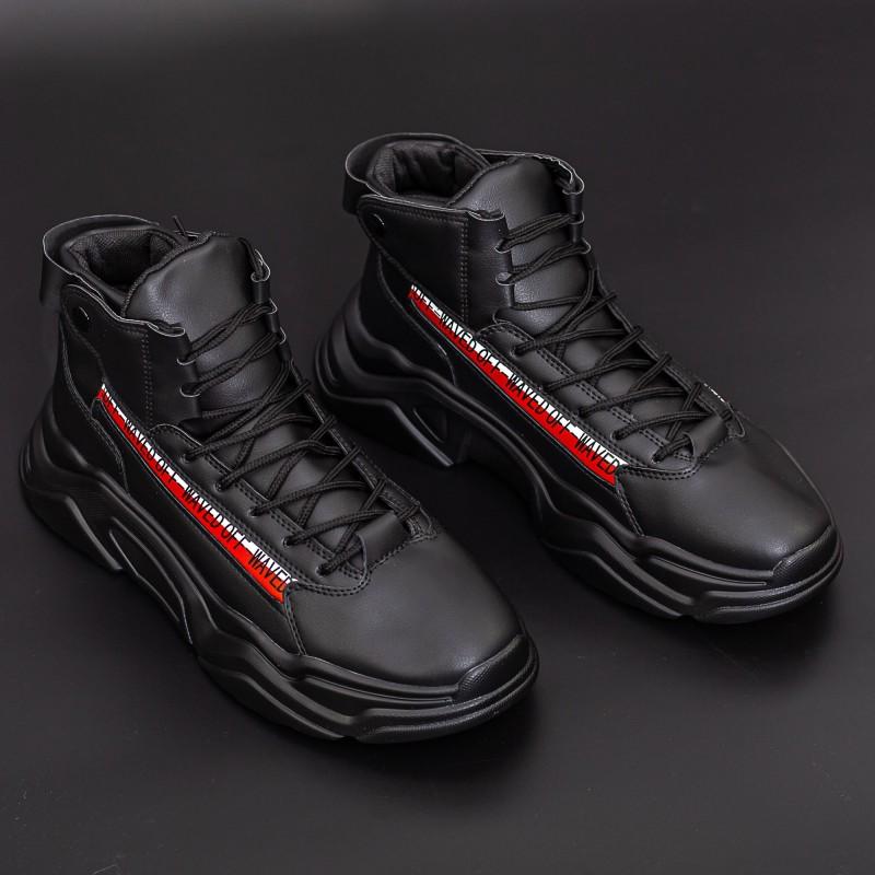 Pantofi Sport Barbati H15-1 Negru DCF68