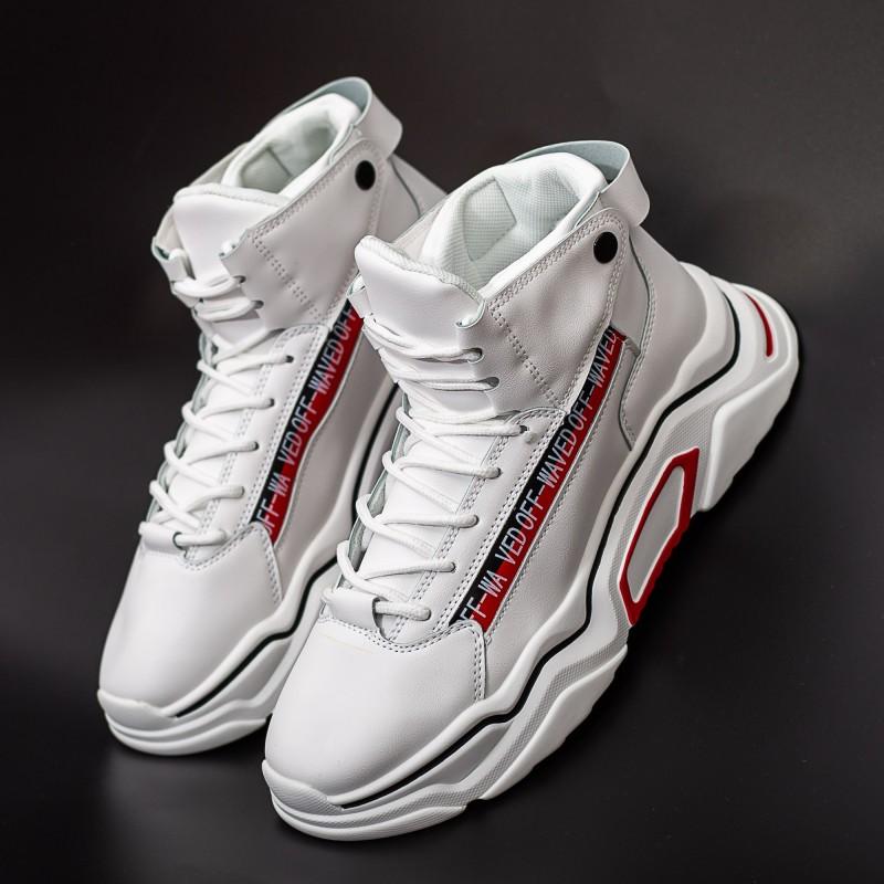 Pantofi Sport Barbati H15-1 Alb DCF68