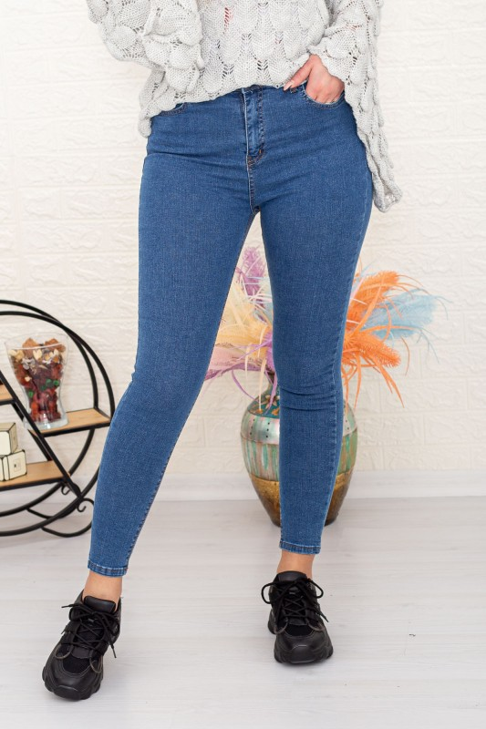 Blugi Dama 190 Albastru Fashion