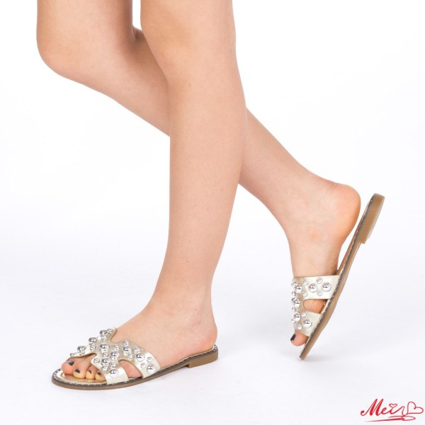 Papuci Dama WS82 Gold Mei