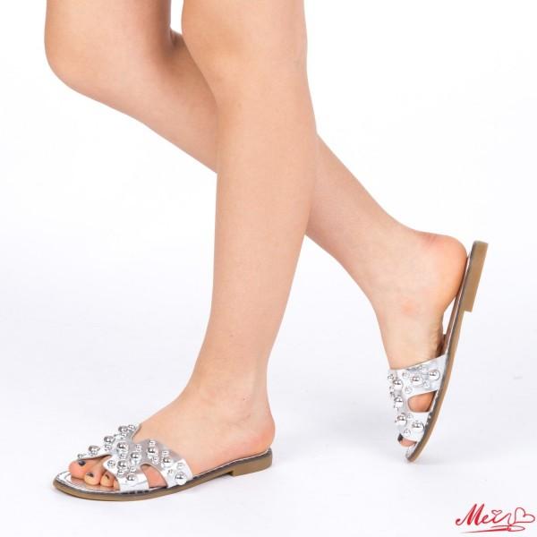 Papuci Dama WS82 Silver Mei