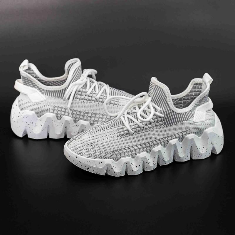 Pantofi Sport Barbati LGMB1 Alb Mei