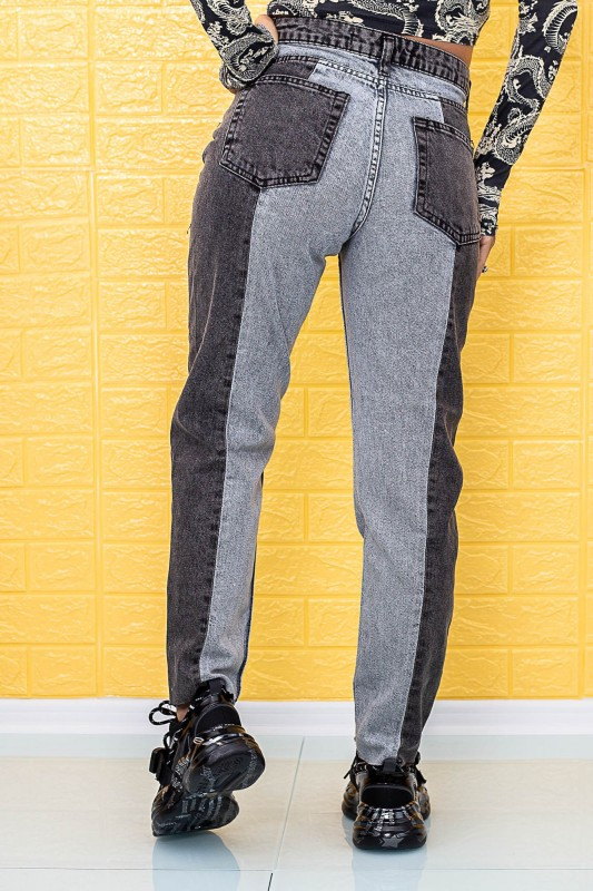 Blugi Dama 755 Negru-Gri Fashion
