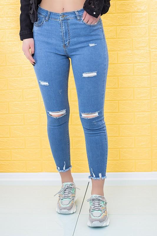 Blugi Dama 708 Albastru Fashion