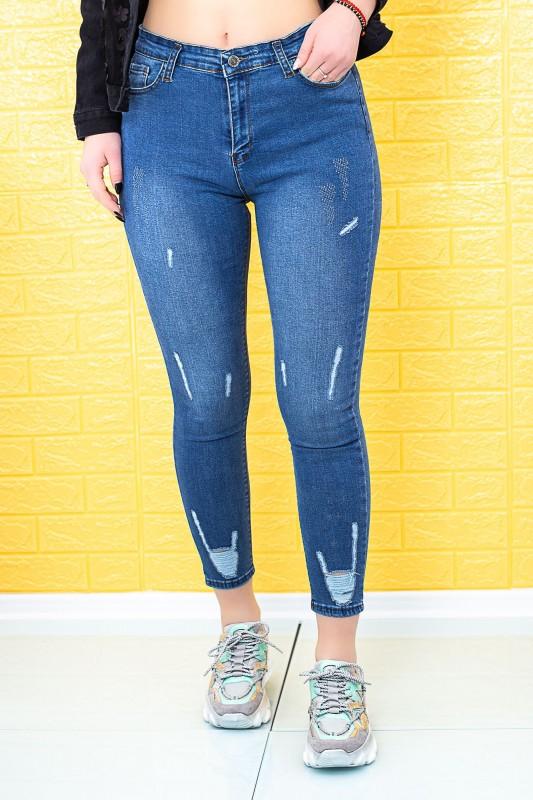 Blugi Dama GRC555 Albastru Fashion