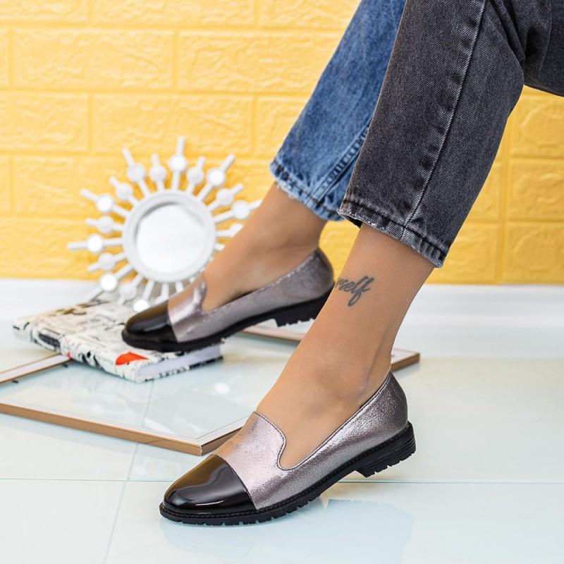 Pantofi Casual Dama YEH12C Guncolor Mei