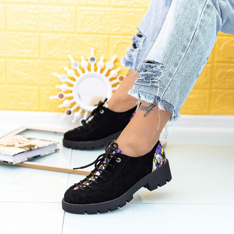 Pantofi Casual Dama DS29A Negru Mei
