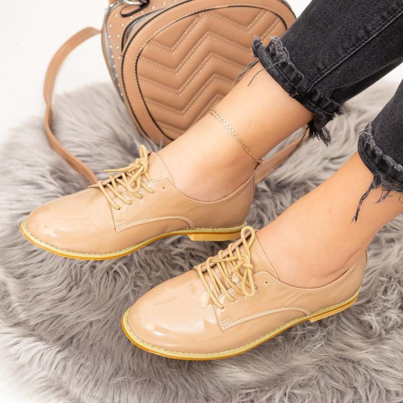 Pantofi Casual Dama OL2471 Bej Mei