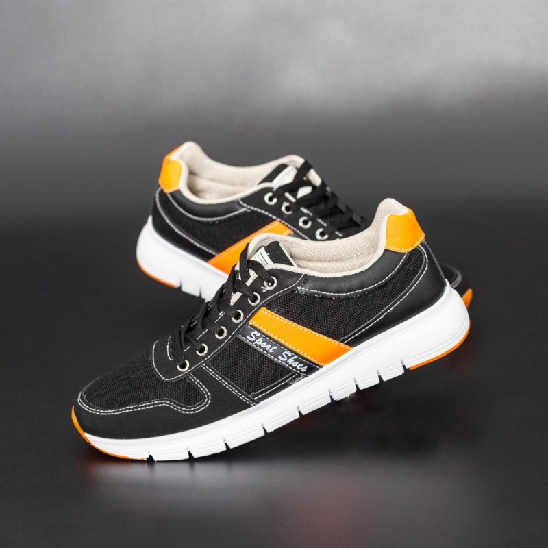 Pantofi Sport Barbati D770 Negru Se7en