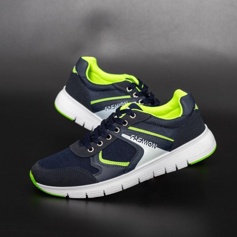Pantofi Sport Barbati D772 Albastru inchis Se7en