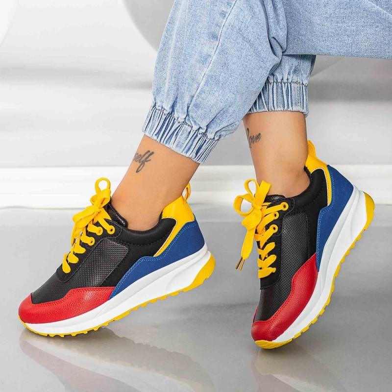 Pantofi Sport Dama X2901 Negru Se7en