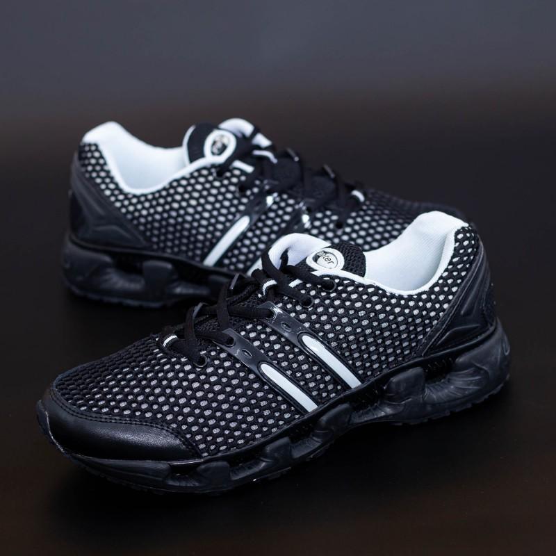 Pantofi Sport Barbati N98 Negru-Alb Mei