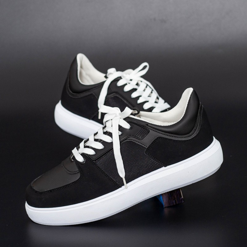 Pantofi Sport Barbati D858 Negru Se7en