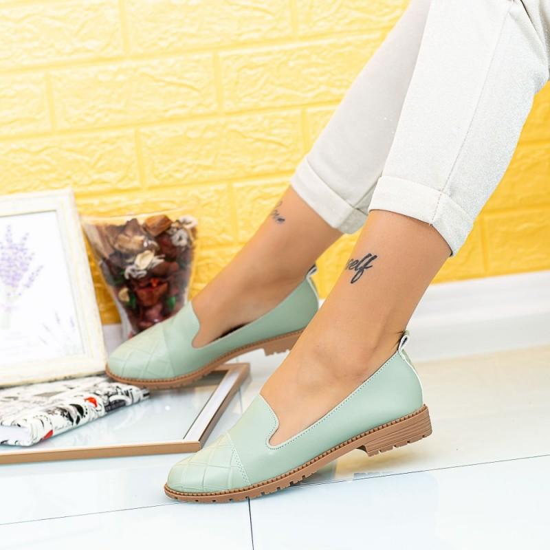 Pantofi Casual Dama YEH16 Verde Mei
