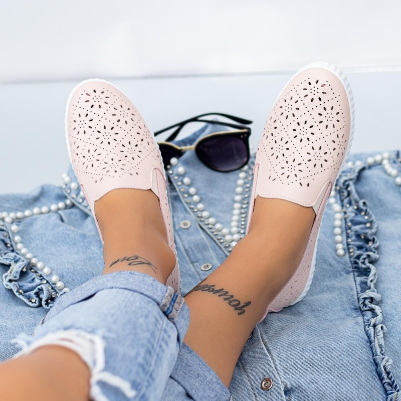 Pantofi Casual Dama JG19 Roz Mei