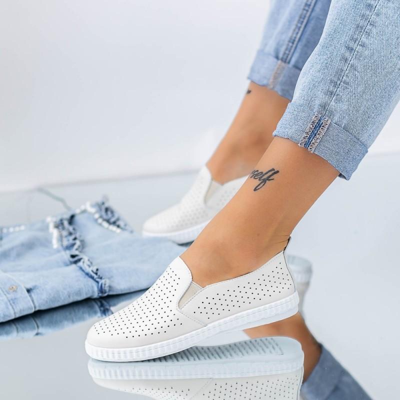 Pantofi Casual Dama JG20 Bej Mei