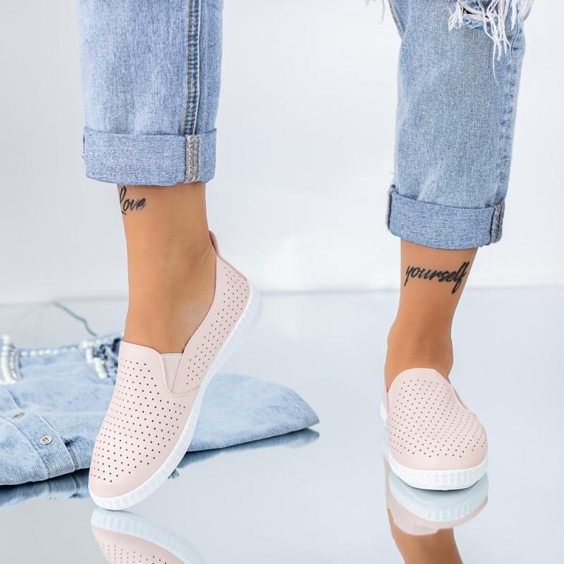 Pantofi Casual Dama JG20 Roz Mei