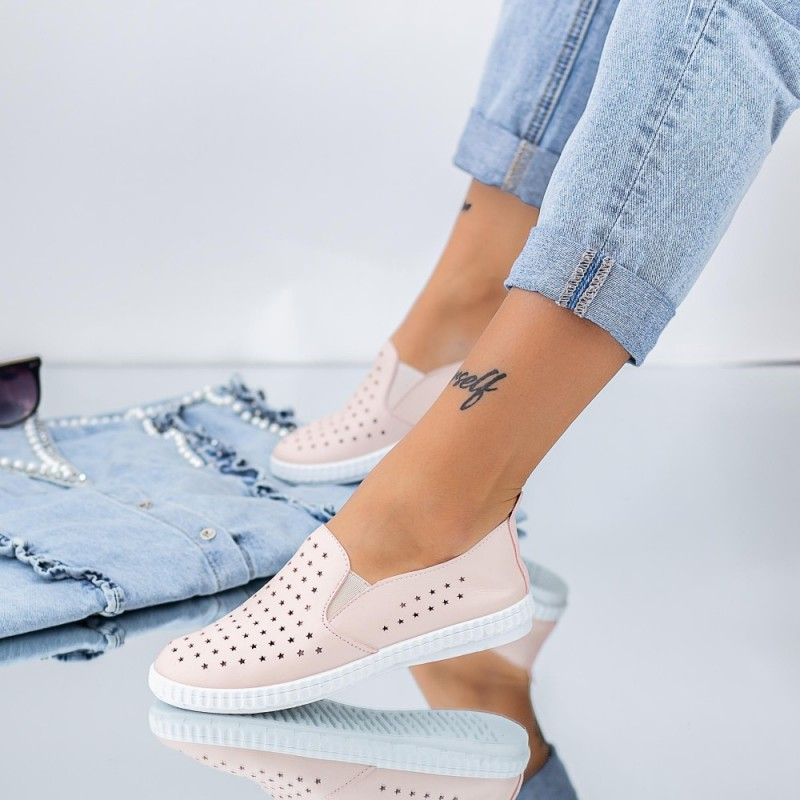 Pantofi Casual Dama JG21 Roz Mei