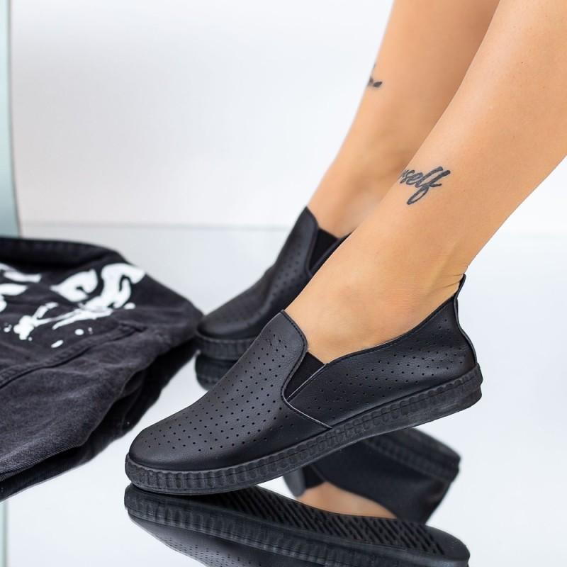 Pantofi Casual Dama JG20 Negru Mei