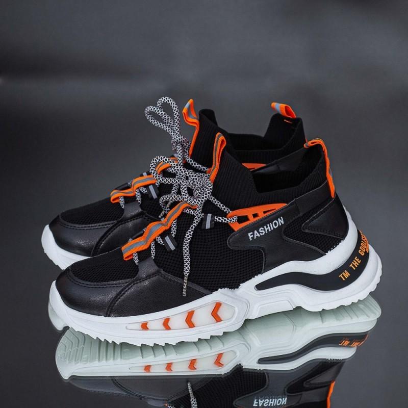 Pantofi Sport Barbati Y03 Negru Mei